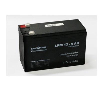 Фото №2 аккумулятора LogicPower LPM 12-9.0 AH