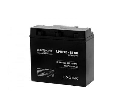 Фото №1 аккумулятора LogicPower LPM 12-18 AH