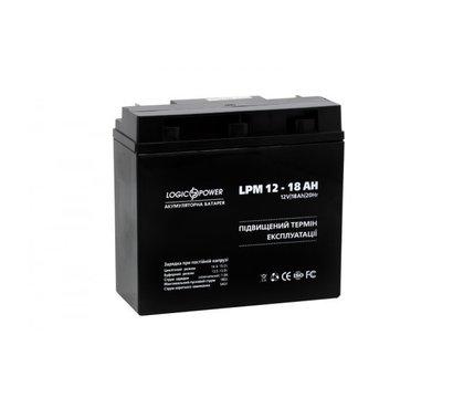Фото №2 аккумулятора LogicPower LPM 12-18 AH