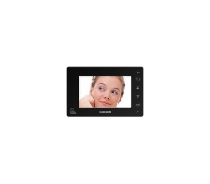 Фото №3 видеодомофона Kocom KCV-A374SD Black/White