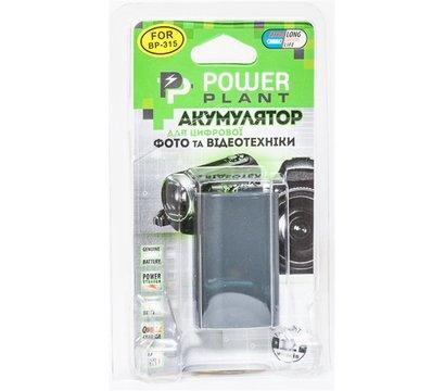 Фото №2 аккумулятора PowerPlant 2000mAh для Canon BP-315 - DV00DV1078