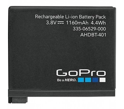 Фото аккумулятора GoPro Rechargeable Battery for HERO4 — AHDBT-401