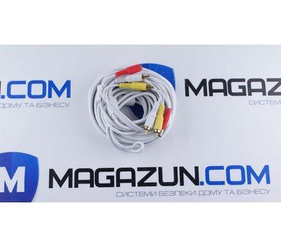Фото №1 кабеля Lux 2RCA+DC 10м