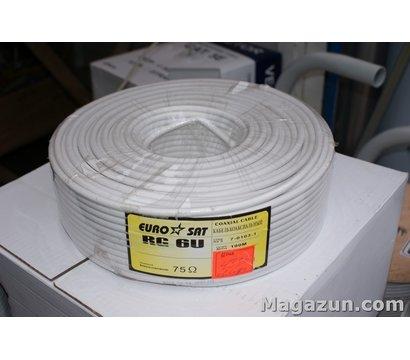 Фото №1 коаксиального кабеля EuroSat RG 6U/48%/Cu