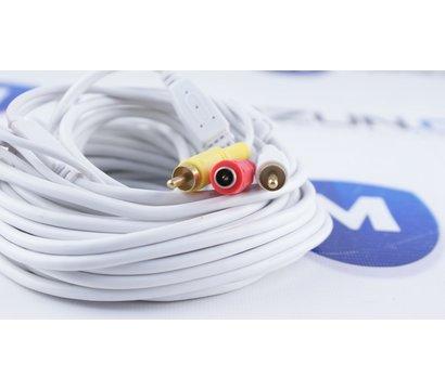 Фото №2 кабеля Lux 2RCA+DC 10м