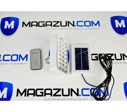 Фото 3 Фонарь-лампа Yajia 9817, 24SMD, солнечная батарея, пульт Д/У