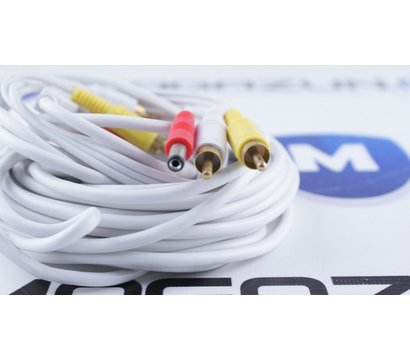 Фото №3 кабеля Lux 2RCA+DC 10м