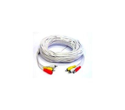 Фото кабеля Lux 2RCA+DC 20м