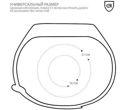 Фото №1 ремешка Armorstandart для Xiaomi Mi Band 4/3 Marsala — ARM55110