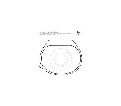 Фото №3 ремешка Armorstandart для Xiaomi Mi Band 2 Dark Grey — ARM50850