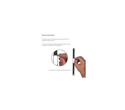 Фото №4 ремешка Armorstandart Carbon Silicone Series для Xiaomi Mi Band 4/3 Orange — ARM55197