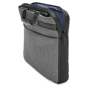 Фото №1 сумки для ноутбука HP Signature Slim Top Load Black/Grey — L6V67AA