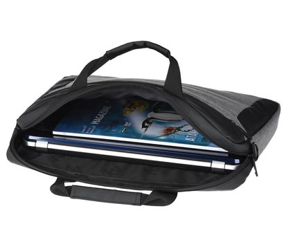 Фото №5 сумки для ноутбука 2E 2E-CBN816GR Grey