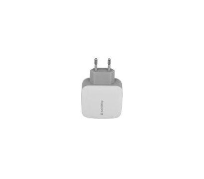 Фото №2 зарядного устройства ColorWay CW-CHS003-WT White