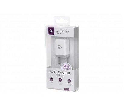 Фото №3 зарядного устройства 2E 2E-WC1USB1A-W White