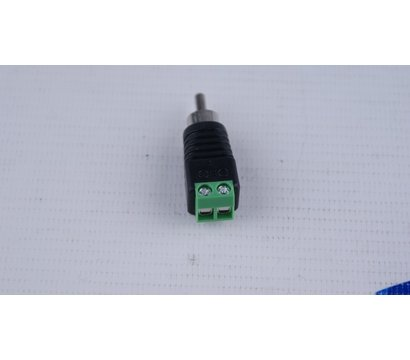 Фото №1 товара Коннектор Green Vision GV RCA/M (male) (1шт.)