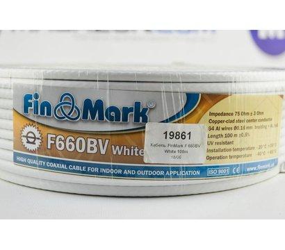 Фото №2 коаксиал Кабель FinMark F 660BV White 100m