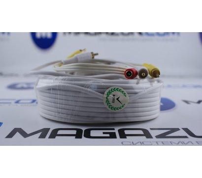 Фото №3 кабеля Lux 2RCA+DC 20м